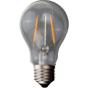 100pcs E-27 A60 FILAMENT LED BULB 220V 2W 3500K