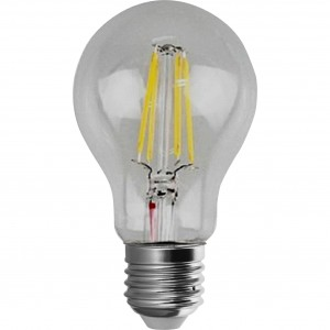 100pcs E-27 A60 FILAMENT LED BULB 220V 4W 3500K