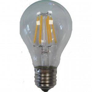 100pcs E-27 A60 FILAMENT LED BULB 220V 6W 3500K